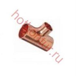 Изображение Тройник для медных труб ∅  18х15х18 пайка  VIEGA