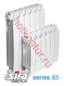 Изображение Биметаллический радиатор SIRA RS 300 /6cекции
