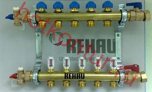 Изображение Распределительный коллектор REHAU HKV-D с расходамерами  9контур