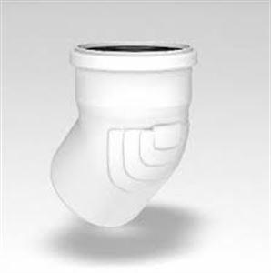 Изображение ОТВОД RAUPIANO ∅ 50/15°  для внутренных канализационных систем