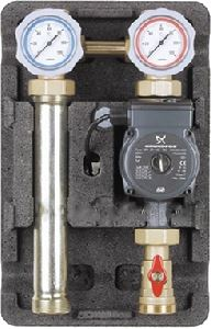 Изображение Насосная Группа Meibes UK UPS32-60 контур без смесителя с насосом UPS 32-60 11/4 ME66712.40