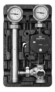 """Изображение Насосная Группа Meibes  MK UPS25-60 3-х ходовым сместителем 1"""" ME66731.40"""