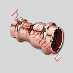 Изображение Муфта редукционная двухраструбная под пресс Viega PROFIPRESS для медных труб ∅ 18х15