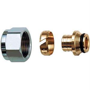 Изображение Концевик для металопластиковых труб 1/2-16 х 2,0 евроконус 1/2 FAR FC 6076 58802
