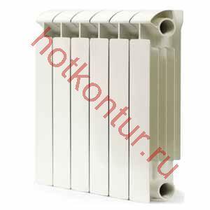 Изображение Радиатор биметаллический GLOBALSTYLE- EXTRA 500  (1 секция)