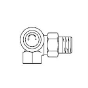 """Изображение Вентиль  для термостатов( М 30 х 1,5) левый 1/2""""угловой oventrop 118 04 92"""