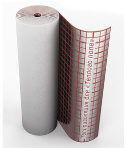 Изображение Подложка для тёплого пола 5 мм Энергофлекс в рулоне 20м2