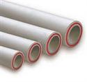 Изображение Труба полипропиленовая Kalde PN 20 (Fiber) d=50 х 6,9 mm армированная (стекловолокно) цвет белый