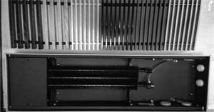 Изображение Конвектор встроенный Techno 200х85х3800