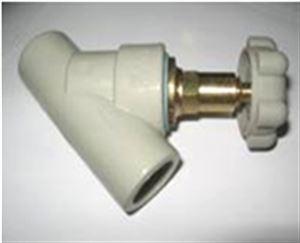 Изображение Вентиль косой с обратным клапаном  ∅ 20 FV-PLAST