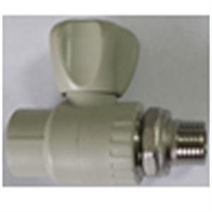 Изображение Кран ППР  шаровой радиаторный прямой ∅ 20х1/2 FV-PLAST