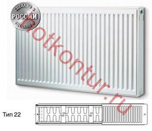 Изображение Стальной панельный радиатор Buderus Logatrend K-Profil22|500|1000