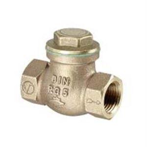 Изображение Обратный клапан с прямой врезкой PN 16 бронза Oventrop