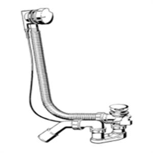 Изображение Слив-перелив для ванн Simplex Viega 258357