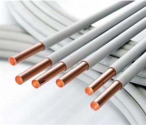 Изображение Труба медная отожженная в оболочке PVC 22х1х25 WICU_rohr