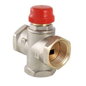 Изображение Трехходовой термостатический смесительный клапан