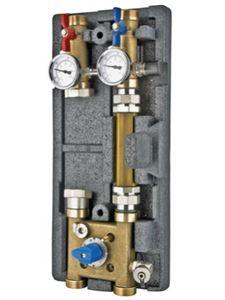 Изображение Насосный модуль с байпасом и четырехходовым клапаном