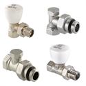 Изображение для категории Ручные клапаны для радиаторов
