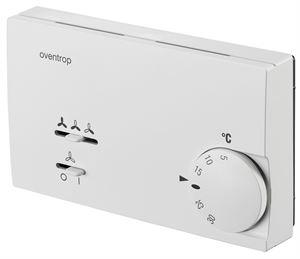 Изображение OVENTROP-Elektronischer Raumthermostat 24V (0-10V) mit Ventilatoransteuerung, Oventrop 1152153