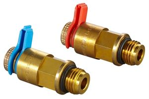 """Изображение Комплектующие-набор №2=2 измер.ниппеля КИП для рег.вентиля """"Hydrocontrol"""",игольч.техника, Oventrop 1060281"""