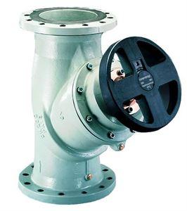 Изображение Hydrocontrol VFC рег. Вентиль Ду200 фланц. 2 ниппеля, игольч.техника измер. GG25, Oventrop 1062656