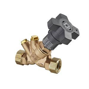 """Изображение Hydrocontrol VTR рег. Вентиль Ду10, 5/8""""НР, бронза, с заглушками, Oventrop 1060503"""