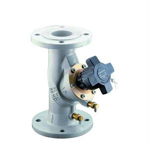 Изображение Hydrocontrol VFN рег. Вентиль Ду100, фланц. по DIN, 2 ниппеля, шаровид. графит, Oventrop 1062453
