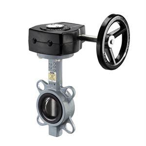 Изображение Клапан запорный межфланц. с червячной передачей,-10 до +80C,диск CF8M,Ду80, Oventrop 1047052