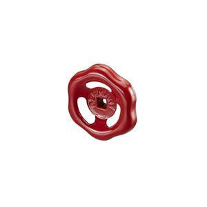 Изображение Маховик (для вент. из бронзы и задвижек) для Ду25, сталь, красный, Oventrop 1900052