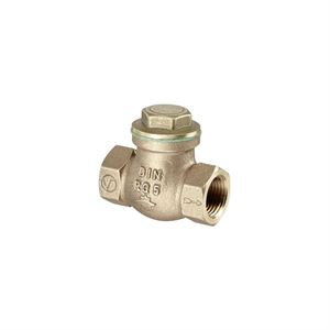 """Изображение Обратный клапан с прямой врезкой Ду 25, G 1""""ВР, PN16, бронза/латунь, Oventrop 1075008"""