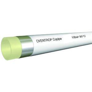 """Изображение Металлопласт. труба """"Copipe"""" белая, в 3-х штангах по 5м, 63x6,0мм, Oventrop 1501584"""
